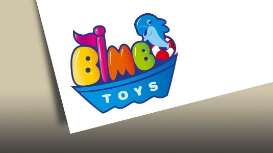 Bimbo Toys Logo Business Cards Signboard