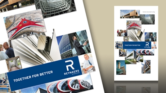 Рекламни материали Рейнарс Алуминиум