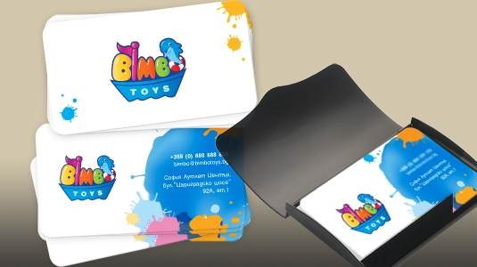Business cards - Bimbo Toys