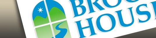 Корпоративна Идентичност и лого Brook House Inn.