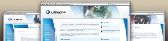 Уеб сайт KI Technology