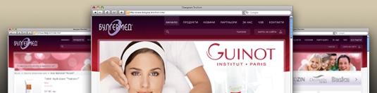 Уеб сайт - онлайн каталог Булгермед