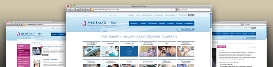 Уеб сайт - Медимаг МС